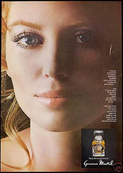 Germaine Monteil Royal Secret Perfume (1969)