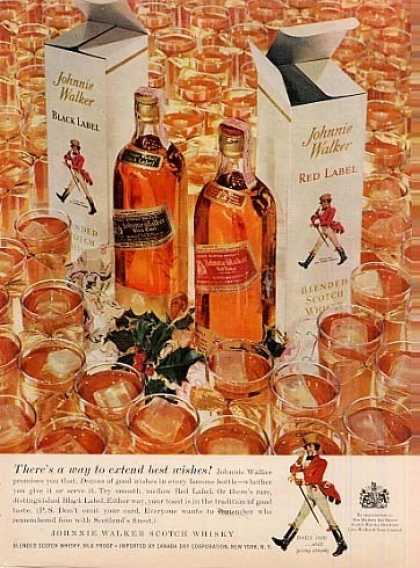 Johnnie Walker Scotch Whisky (1958)