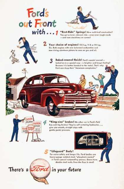 Ford Super Deluxe 2-Door #2 (1947)