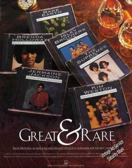 Great & Rare Motown Greatest Hits Albums (1991)