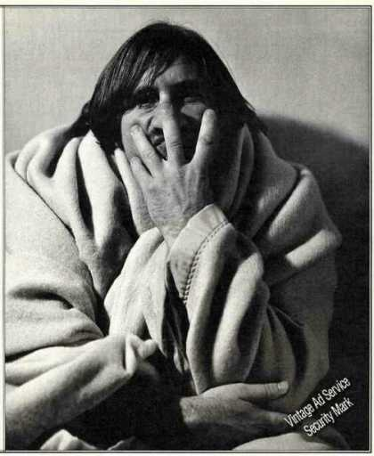 Gerard Depardieu Unusual Magazine Print Photo (1991)