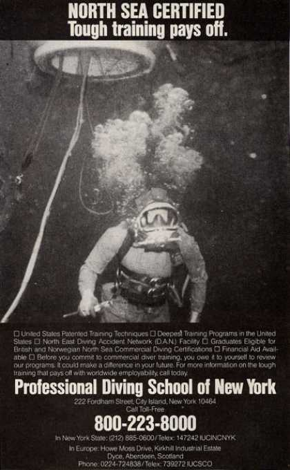 Professional Diving School of New York (1984)