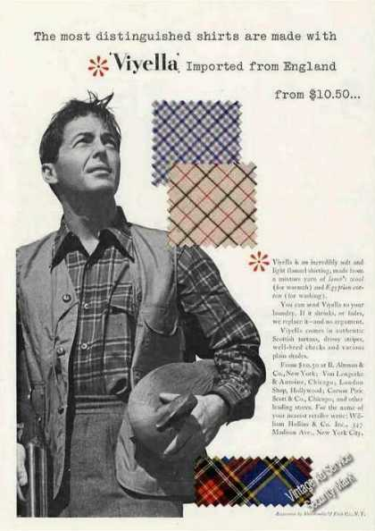 "Viyella From England ""Distinguished Shirts"" (1949)"