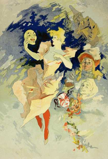 Reproduction of &quot;La Danse,&quot; (1891)