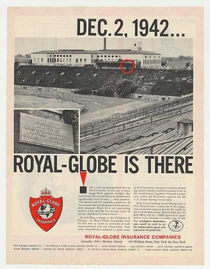 Royal-Globe '42 University of Chicago Nuclear (1962)
