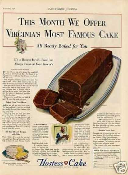 Hostess Cake (1929)