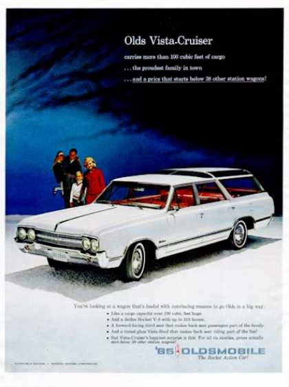 Oldsmobile Vista Cruiser Wagon (1965)