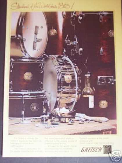 Gretsch Drums Nice Photo (1979)