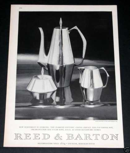 "Reed & Barton, ""Diamond"" (1964)"