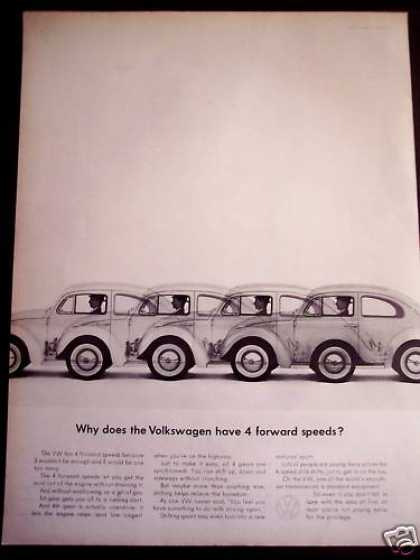 Volkswagen Vw 4 Forward Speeds Classic Car (1963)