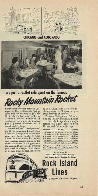 Rock Island Lines Rocky Mountain Rocket (1948)