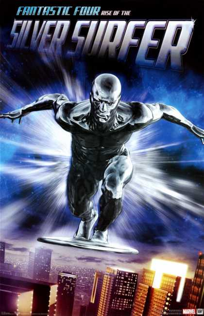 Fantastic Four- Rise Of The Silver Surfer (2007)