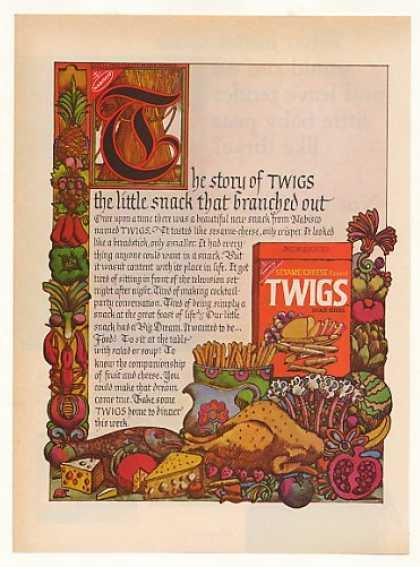 Story of Nabisco Twigs Snack Sticks (1970)