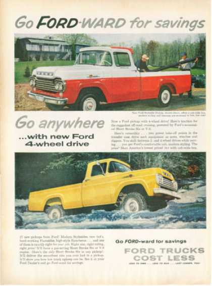 Ford Pickup Stepside Truck (1959)