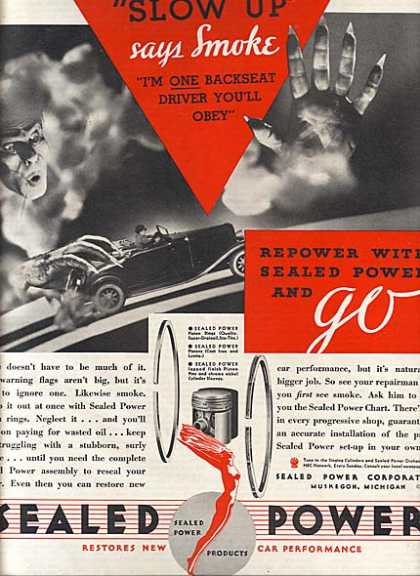 Sealed Power's Piston Rings (1933)
