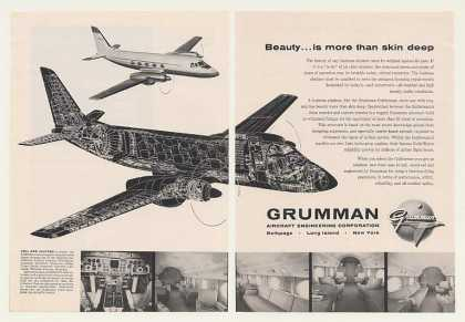 Grumman Gulfstream Airplane Aircraft 2-Page (1960)