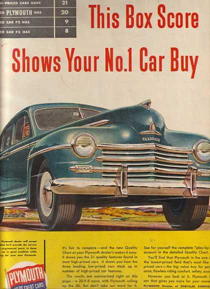 Chrysler's Plymouth (1947)