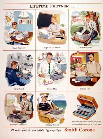 Smith Corona Typewriter (1956)