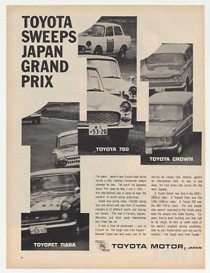 Toyota Tiara 700 Crown Wins Japan Grand Prix (1963)