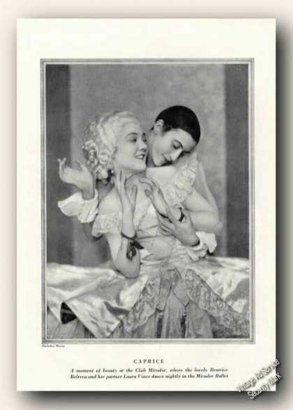 Beatrice Belreva/laura Vince Print Feature Theatre (1926)