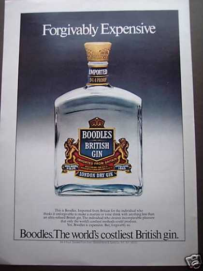 Boodles Costliest British Gin Bottle (1980)