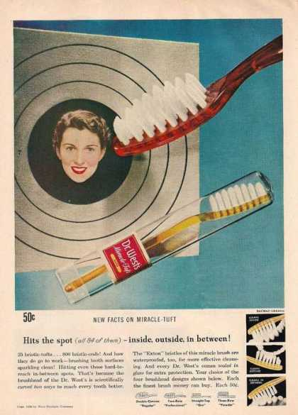 Hits the Spot Dr West Tooth Brush (1950)