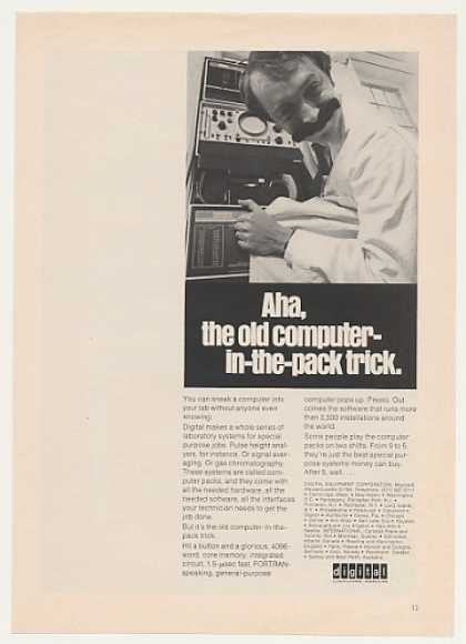 Digital Computer Packs Laboratory Systems (1969)