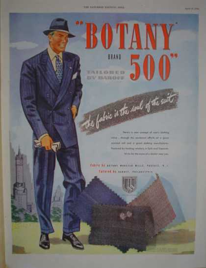 Botany 500 Suits AND Pennsylvania Crude Oil (1946)
