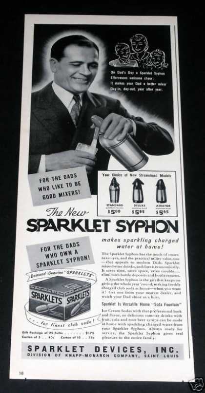 Sparklet Syphon, Water (1941)