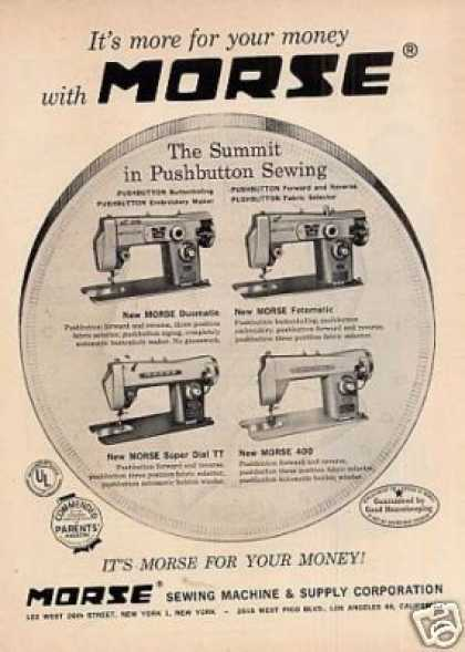 Morse Sewing Machines (1959)