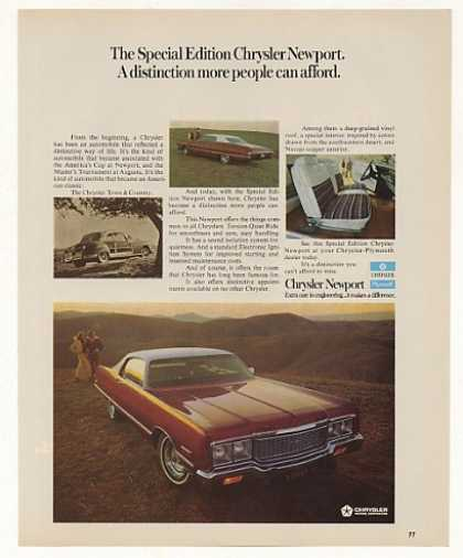 Special Edition Chrysler Newport Photo (1973)