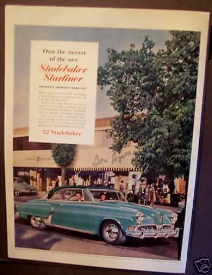 Studebaker Starliner Car Auto (1952)