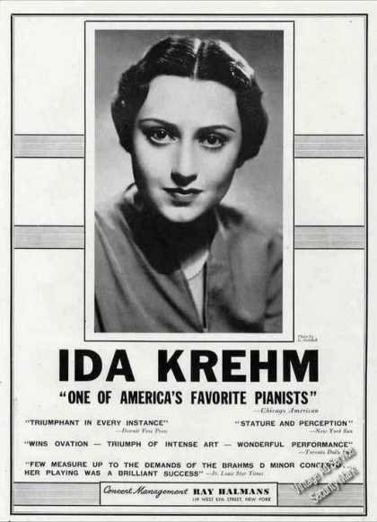 "Ida Krehm ""One of America's Favorite Pianists"" (1944)"