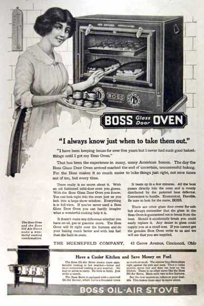 Boss Glass Door Oven (1919)