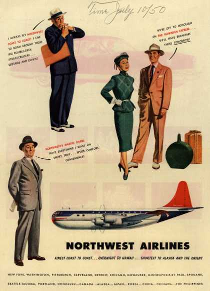 Northwest Airlines – Northwest Airlines (1950)