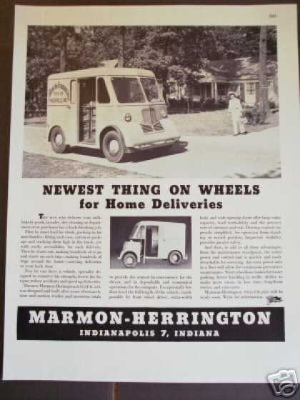 Marmon Herrington Delivr-all Van Truck (1945)
