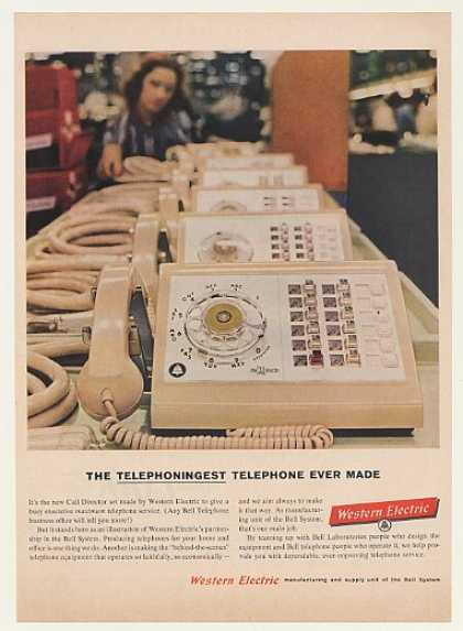 Western Electric Bell Call Director Telephone (1960)