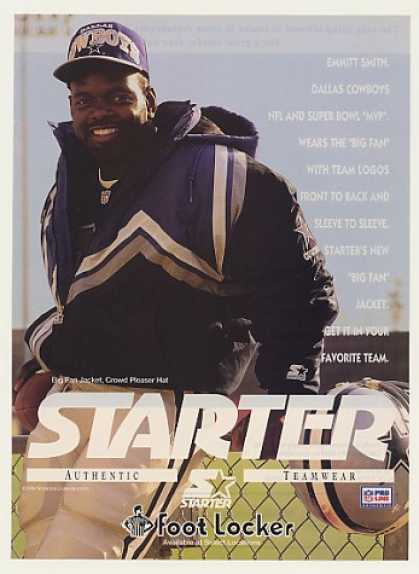 Dallas Cowboys Emmitt Smith Starter Photo (1994)