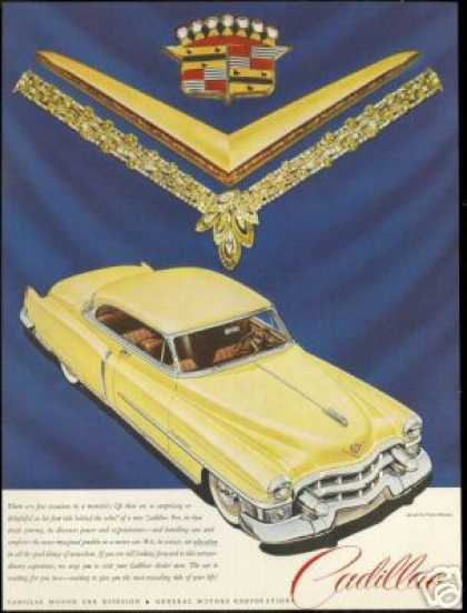 Cadillac 2 Dr Coupe Harry Winston Jewels (1953)