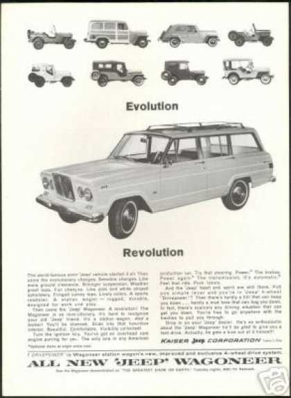 Army Jeep to Wagoneer Evolution Photos (1964)