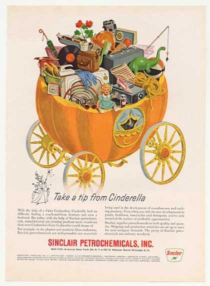 Sinclair Chemicals Cinderella Pumpkin Carriage (1961)