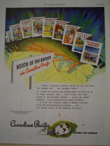 Canadian Pacific Railroad North of the Border (1946)