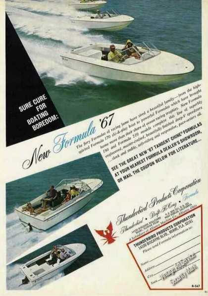 Formula 170/190/210 Photos Boats (1967)