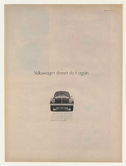 VW Volkswagen Beetle Bug Doesn't Do It Again (1969)