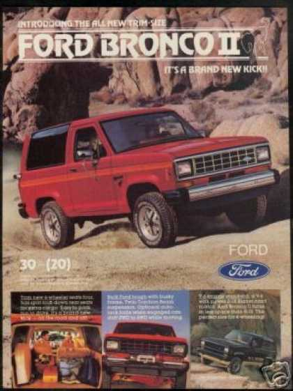 Ford 4WD Bronco II Truck Photo (1983)