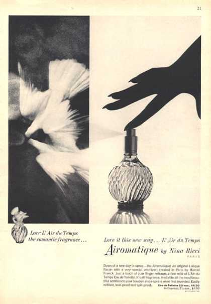 Nina Ricci Airomatique Perfume Bottle (1964). # | » via | buy at eBay
