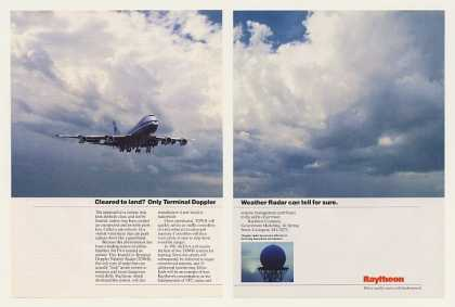 Raytheon TDWR Terminal Doppler Weather Radar 2P (1990)