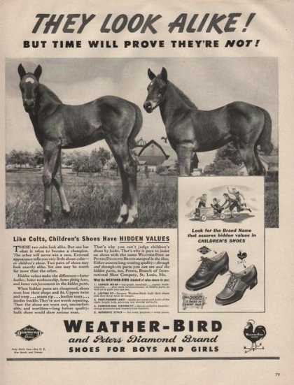 Weather Bird & Peter Diamonds Children Sho (1942)