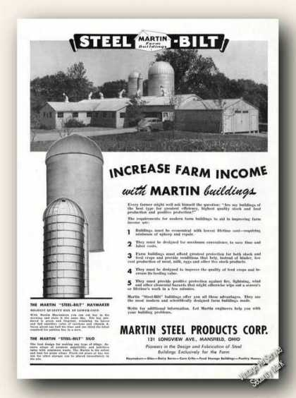Martin Steel-bilt Farm Buildings (1947)