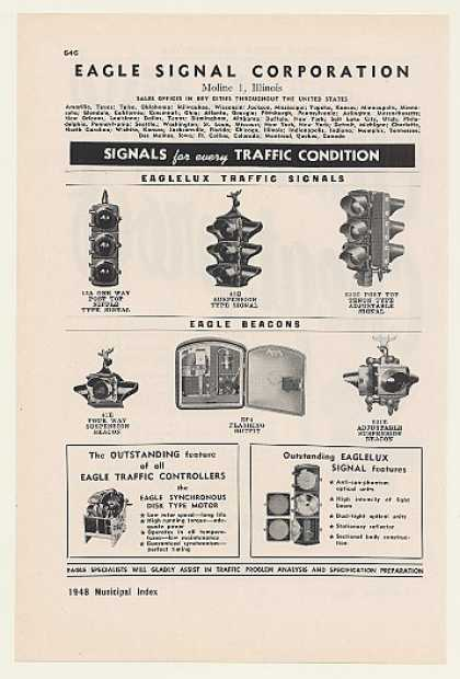 Eagle Signal Traffic Lights Signals Beacons (1948)